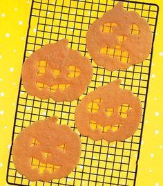 Glowing Jack-o'-Lantern Cookies