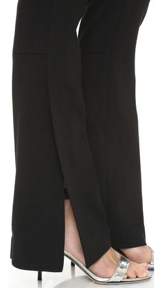 ce721171206e7 3.1 PHILLIP LIM Trousers With Side Slits.  3.1philliplim  cloth  slits You
