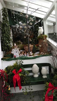 Deko Weihnachten outdoor