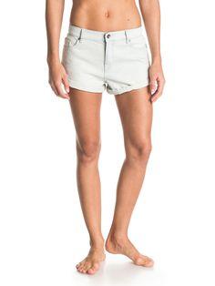 Last Paradise Bleach - ROXY Roxy Denim Shorts für Frauen  Die Last Paradise Bleach sind Teil der Roxy Frühjahr/Sommer Apparel Kollektion 2015. Diese Denim Shorts für Frauen zeichnen sich durch Denim mit einem Stoffgewicht von 305 g aus. Weitere besondere Features sind: Relaxed Fit, hergestellt aus 100% Baumwolle.  Merkmale:  Roxy Denim Shorts, Denim, Stoff 305 g, Relaxed Fit, Bleach Wash,...