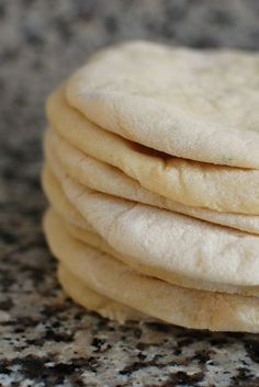 Homemade Pita Bread Made These With 1 2 White 1