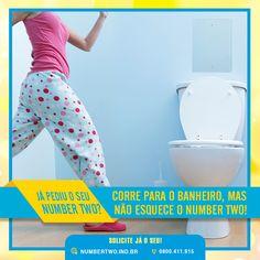 Corre para o banheiro, mas não esquece o Number Two!<br />#numbertwo #higiene #eliminador #odorpessoal #banheiro #pratico #facil