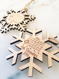 Find This Pin And More On Sarah S Wedding Stuff Snowflake Save The Date Winter
