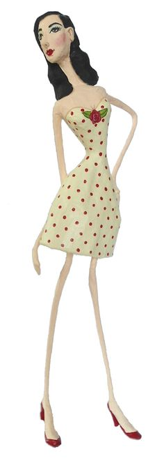 papier-mache dolls