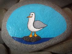 Hand painted stone £6.00
