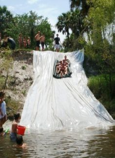 Home made slide. I want this so bad!
