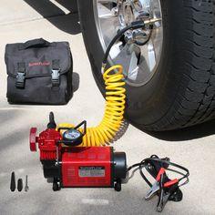 Amazon.com: Q Industries MV50 SuperFlow High-Volume 12-Volt Air Compressor: Automotive