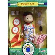 Madeline-Doll-20cm-Picnic-Gift-Set-Retired-2000-Delivery-is-Free