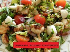 Homemade Balsamic Vinaigrette | Food And Facets