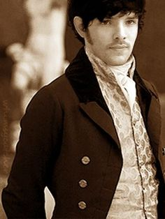 Colin Morgan in Regency dress? Colin Morgan as Mr. Darcy? I think my ovaries just exploded... again!