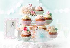 Cupcakes-Hochzeitstorte