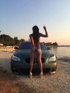 #BMW_E60_M5 #mbDesign #Modified #Bagged #Slammed #Stance #AutoGirls
