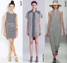 Spring 2014- Black & White trend