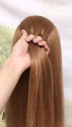Hairdo For Long Hair, Easy Hairstyles For Long Hair, Cute Hairstyles, Braids For Girls Hair, Hairstyles For Picture Day, Easy Hair Braids, Easy And Beautiful Hairstyles, Easy Little Girl Hairstyles, Fancy Braids