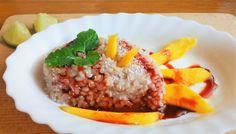 Mango s ryžou je super tip na zdravý sladký recept, z ktorého sa až tak nepriberá (keď ho budete jesť s mierou samozrejme :-) )