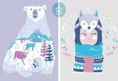 DPAM - kidswear //arctic tech// - prints, patterns & illustration : Geronimo Studio