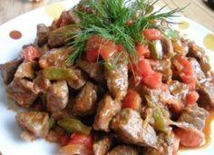 Betty Gün ile Macar mutfağı: Sebzeli Dana Biftek