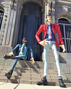 Back to the school :) #lupinthe3rd #jigendaisuke #figuarts #shfiguarts
