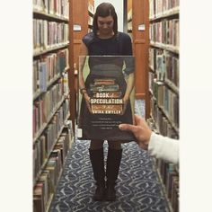 So many books, so little time! Visit us this weekend to find your next great read ⏰#BookfaceFriday #HappyFriday #TheBookOfSpeculation #ErikaSwyler #SmithLib