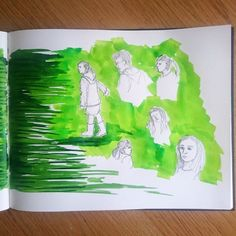 Day 20 28 Drawings Later Sketchbook Challenge by Jo Degenhart