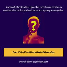 A psychology website designed to help anybody looking for detailed information and resources. Psychology Quotes, Imagination, Reflection, Writer, The Secret, Fiction, Facts, Free, Sign Writer