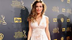 2015 Daytime Emmy Awards - Amelia Heinle, known for her role as Victoria Newman in The Young and the Restless WON for Outstanding Supporting Actress in a Drama Series.