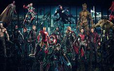 Download wallpapers Avengers Infinty War, 4k, 2018 movie, superheroes