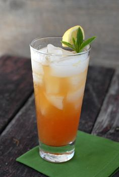 Palisade Peach Julep -- //2 ounces of Bulleit bourbon  / ½ ounce agave syrup/nectar  / ¾ ounce fresh lemon juice   /4 dashes orange bitters  /½ ripe peach, peeled and quartered  /5-8 mint leaves  //1.Muddle peach and agave in a mixing glass.  2.When peach is completely muddled, add mint.Bruise mint with muddler.  3.Add lemon juice, bourbon, bitters and ice; shake vigorously.Strain twice into a highball glass with fresh ice. Garnish with mint sprig.