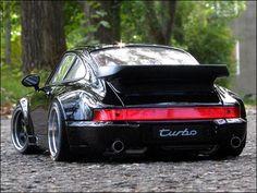 1:18 Tuning Porsche 911 (964) Turbo [schwarz / Black] mit Echt-Alu-PVC-Felgen in Modellbau | eBay