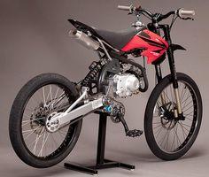 Motoped: l'anello mancante tra moto e mountain bike - 2