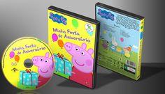 Peppa Pig - Minha Festa De Aniversário - Capa | VITRINE - Galeria De Capas - Designer Covers Custom | Capas & Labels Customizados
