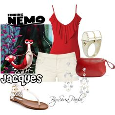 """""""Jacques (Finding Nemo)"""" by siriatejadapaola on Polyvore"""