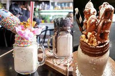 17 Epic Milkshakes That Will Inspire You To Travel Around Australia - I would like to have all of these in and around my mouth, please <3
