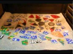 Como reciclar cd's (discos compactos) ,paso a paso ,creando piezas decorativas para diferentes usos,como colgantes,medallones pendientes o aplicaciones