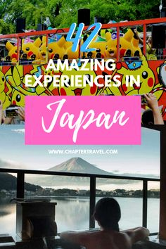 Add just a handful of these 42 experiences to your Japan bucket list and you'll have a fantastic time in this magical country. Japan is one of those destinations where you can keep on coming back to and there are still enough new activities and places to unravel. In this article you can find 42 activities in Japan that will definitely make your trip memorable. This article also includes several recommendations for tours and hotels to stay in. #Japan #Bucketlist #Wanderlust #