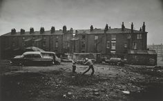 Don McCullin, Children Throwing Stones, Liverpool, 1961-62