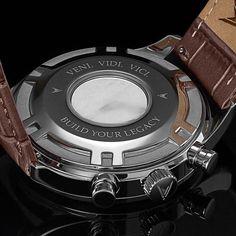 Italian Marble Caseback Men's Luxury Watch