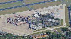 Flughafen Berlin Tegel - der echte Hauptstdtflughafen. Luftaufnachme | Berlin Caputal City Airport Berlin Tegel. Aerial View. | Quelle/Sorce; Berliner Morgenpost