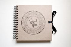 Personalised scrapbook by TypeODesign on Etsy
