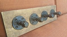 Custom Steampunk Industrial Plumbing Pipe by RusticAndPipeDecor