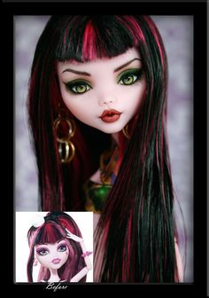 Sabine - Before and After by *IvyHeartDesigns