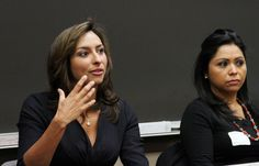 """""""Watch and read at least one news item a day,"""" says WGN-TV news anchor and DePaul alumna Lourdes Duarte when asked for advice on understanding journalism during """"Pasos al Futuro."""" Spanish for """"steps towards the future,"""" it's a program at DePaul University that introduces Latino high school students to a career in journalism. Pasos recently received a $120,000 grant from the Robert R. McCormick Foundation."""