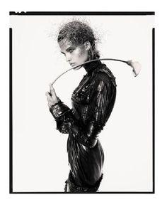 Publication: Numéro October 2017 Model: Julia van Os Photographer: Greg Kadel Fashion Editor: Charles Varenne Hair: Edward Lampley Make Up: Mariel Barrera Greg Kadel, Leather Mask, What Do You See, Dark Fantasy, Editorial Fashion, Fashion Editor, Fashion Photo, Flower Power