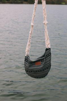 DIY: macrame strap bag