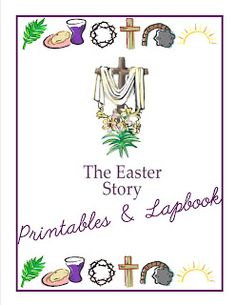 Free Easter Printables and Lapbook Set
