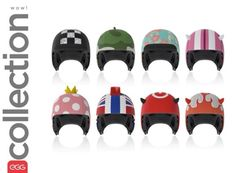 Cascos infantiles originales de Egg Helmets http://www.minimoda.es