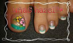 Resultado de imagen para deko uñas para pies Toe Nail Art, Toe Nails, Pretty Nail Designs, Nail Art Designs, French Pedicure, Nails 2017, Pedicure Designs, Paws And Claws, Pretty Nails