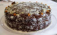 Torta Húmeda de Chocolate, receta artesanal, bizcocho esponjoso con doble relleno de dulce de leche y fudge de chocolate. Una auténtica delicia :)