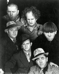 Muy distintos: los Tres Chiflados dentro y fuera de sus personaje, 1930.