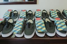 "i love this idea for groomsmen shoes and socks! but this whole website has awesome ideas for a ""travel inspired"" wedding :)"